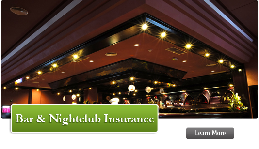 Bar & Nightclub Insurance